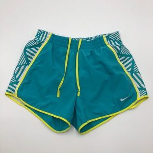 Nike dri-fit lined shorts size small